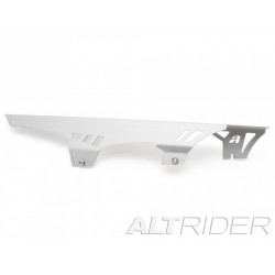 ALTRIDER CHAIN GUARD FOR BMW F 650/700/800 GS TWINS SILVER