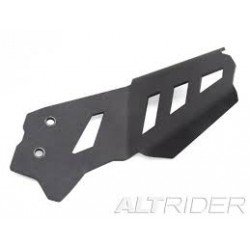 ALTRIDER REAR EXHAUST GUARD FOR BMW F800 GS/A BLACK