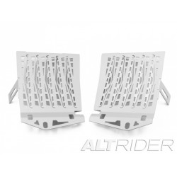 Altrider Radiator Guard BMW R1200GS LC 2013 ONLY Silver
